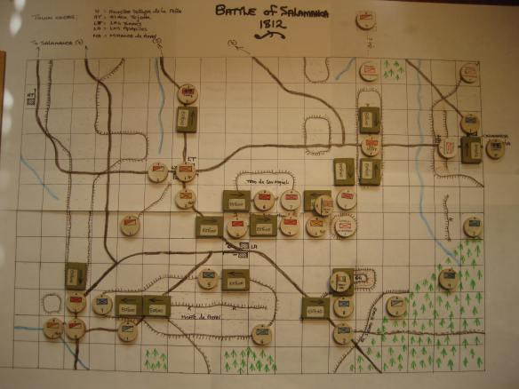 Salamanca Starting positions map