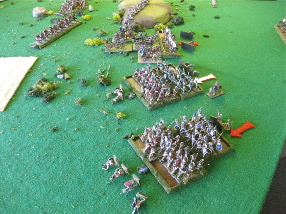 Opps, these allies of Rome can fight... Extraordinarii Hth4 work on the Samnites.