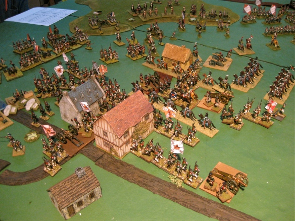 Another view as the Russians attack with the bayonet. French start to think about retiring....