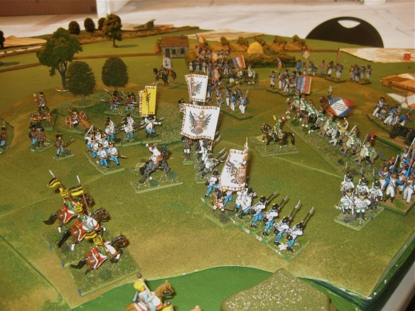 French norther flank force try to assist their southern assault with a final French dragoon charge.