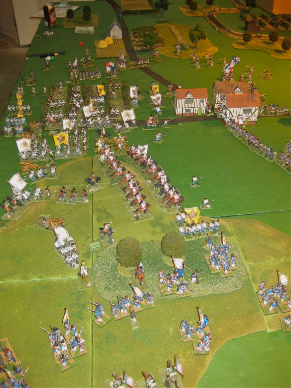 Grand view of the gaming table when scenario was called.