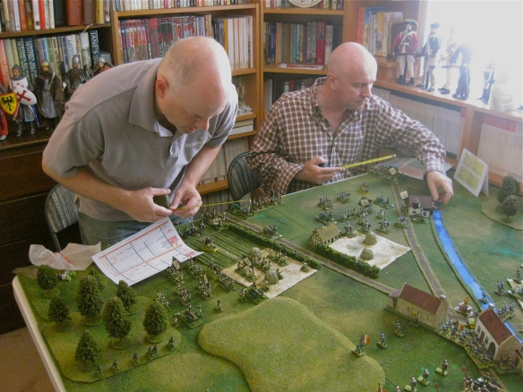 Westphalian starting deployment completed by Theron (l) and Andrew (r).