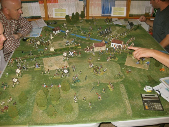 Hand of Rob points forward all Frenchmen.... Westphalian teams calls for a quick exit from the tabletop battlefield.