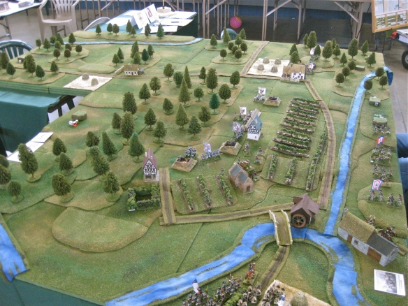 "WR's scenario ""Battle of Dego April 1796"" using 25/28mm miniatures."