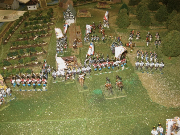 Austrian view of the French defense.