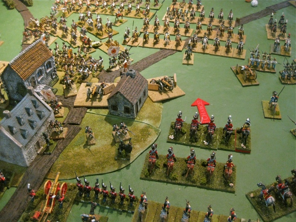 Danish cavalry arrives and rides to game glory. Charge!!!
