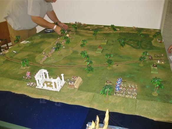 General view of scenario start.