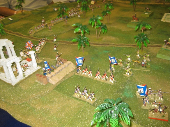 Took two columnar assaults to win the redoubt from the 28th Foot and sailors.