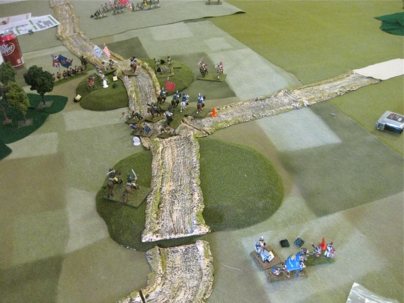 Battle end... both sides are suffering losses. WR not sure who won this engagement.