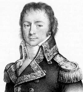 Admiral Jean-Baptiste-Emmanuel Perrée Naval officer who commanded the flotilla on the Nile.
