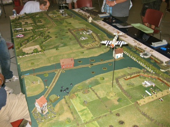 Overall picture shows the first German reinforcement arriving lower left of picture.