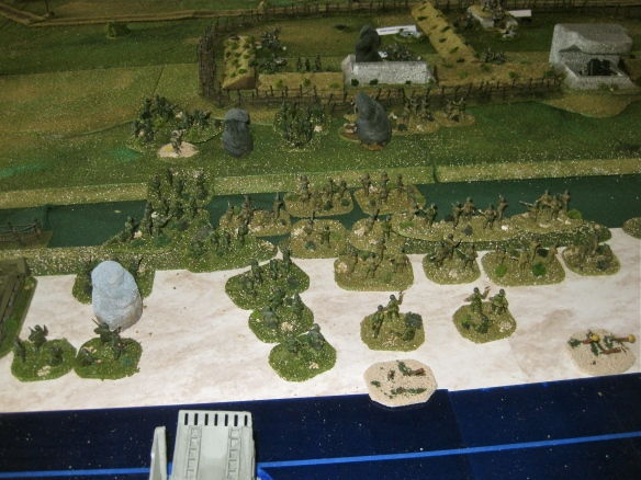 Under WN70 the Rangers and additional American reinforcement arrive... then the German Artillery landed.