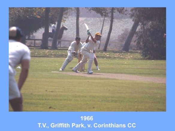 Yep, he played cricket on the weekend. Every summer the family traveled with the US cricket team.