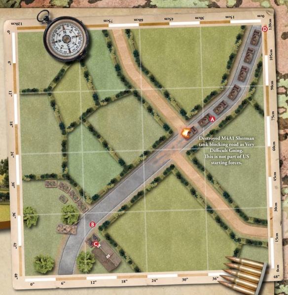 Barkmann's Corner scenario map.