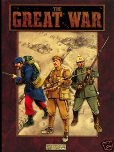 Warhammer OOP The Great War rulebook.