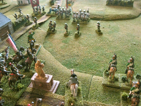 Emperor Napoleon arrives and orders the attack to commence immediately..