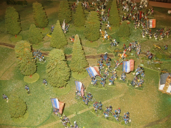 1940 hours shows the French left advance and Prussian fusilier battalion skirmishing.
