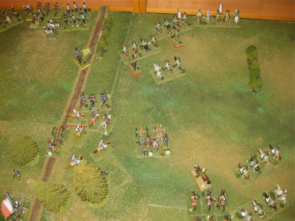 The battlefield seems desreted of Prussians as several Prussian battalion fail to rally and scatter from the battlefield.