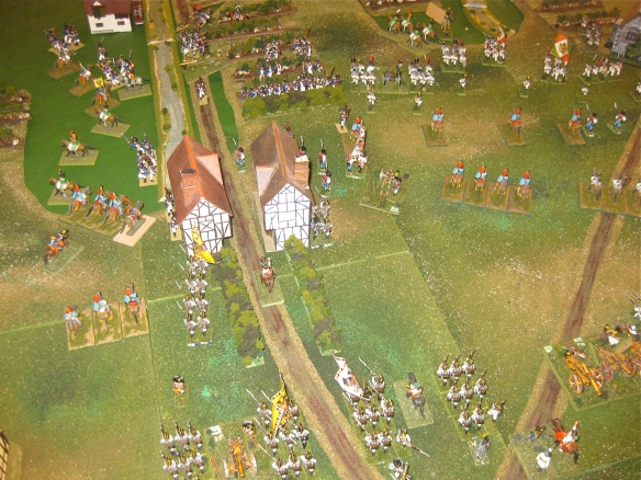 GM Frimont's infantry counterattack into French occupied Procia.