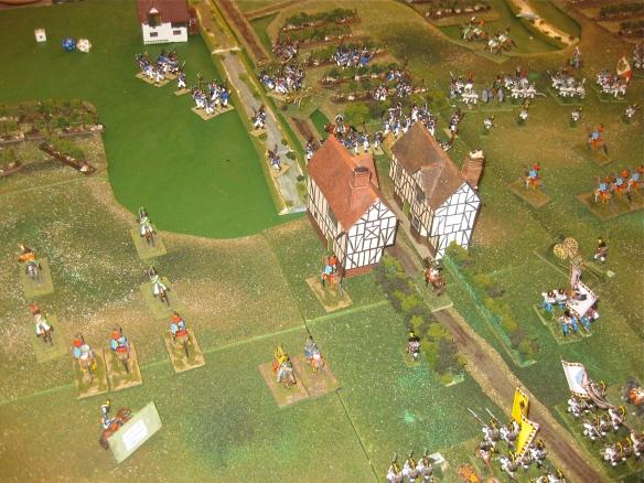 1020 hours has the Austrians retaken a portion of Procia.