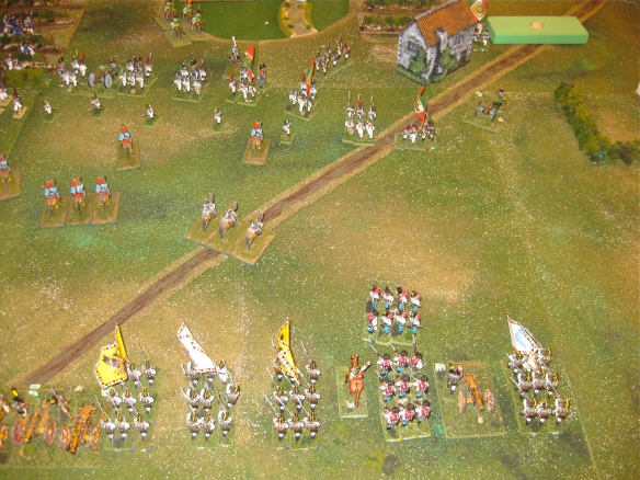 Austrian reinforcements arrive with the positioning of VIII Corps behind GM Frimont.