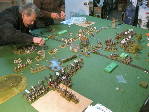 Table B. Andy maneuvers his Dutch agains the growing might of Bavaria.