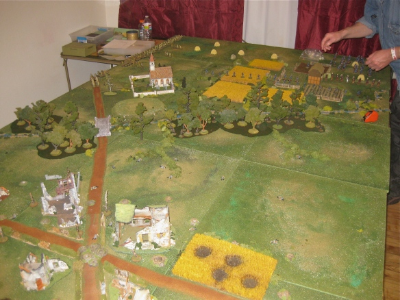 Warhammer Great War Battles scenario run by David Komatz.