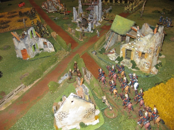 WR understands a glorious charge down Main street finished off the Germans. French Press declare Victory!