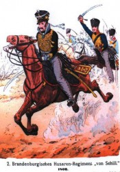 2nd Prussian Brandenburg hussars