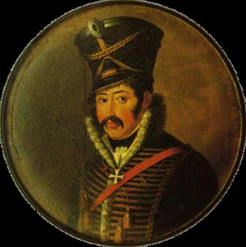 Major Ferdinand von Schill, 2nd Brandenburg Hussars.