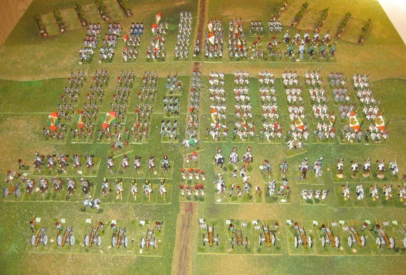 Grand view of my Northern Italian army circa 1808-1812.
