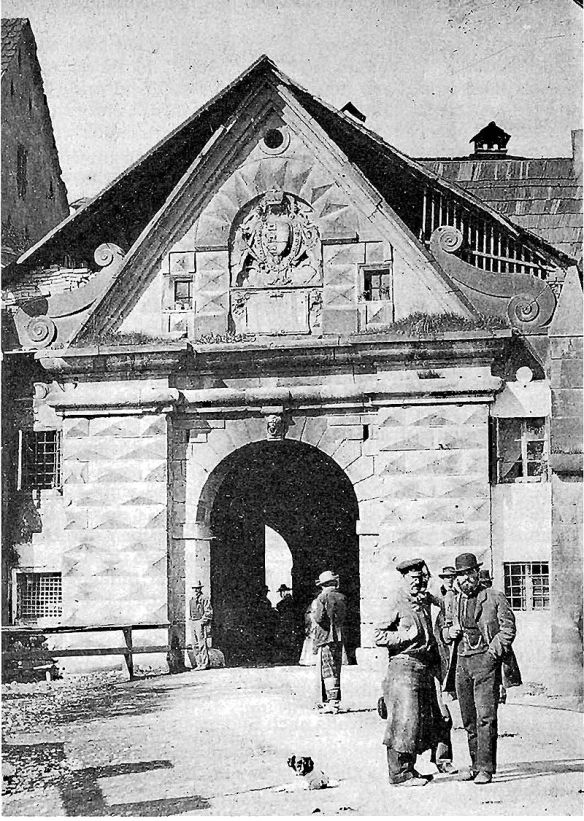 Voelkermarkter eastern gate at Klagenfurt.
