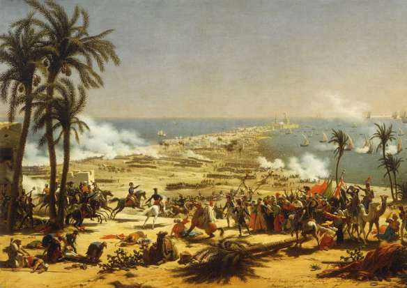 xxBattle of Aboukir by Lejeune