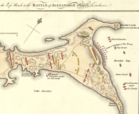 Detail Alexandria 1801 map