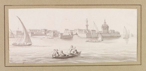 Fort Aboukir L Mayer ca1820