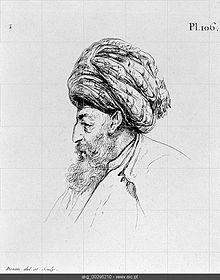 Seid Mustafa Pasha. Leader of the Ottoman army landed at Aboukir.