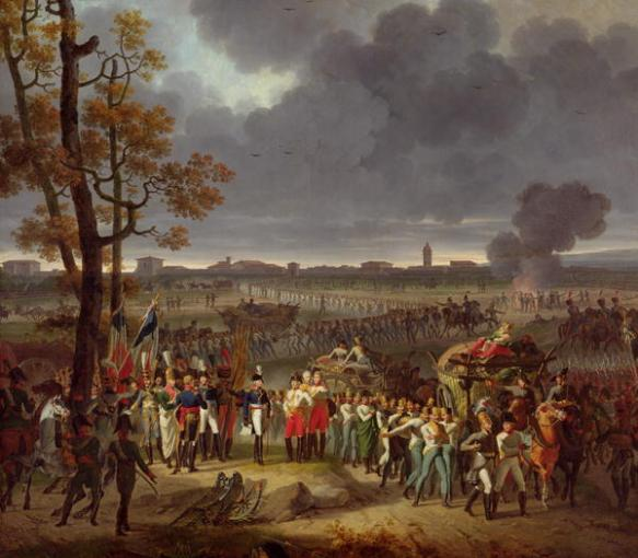 Surrender of Mantua fortress 1797 by Lecomte.